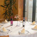 Vista mesa comedor