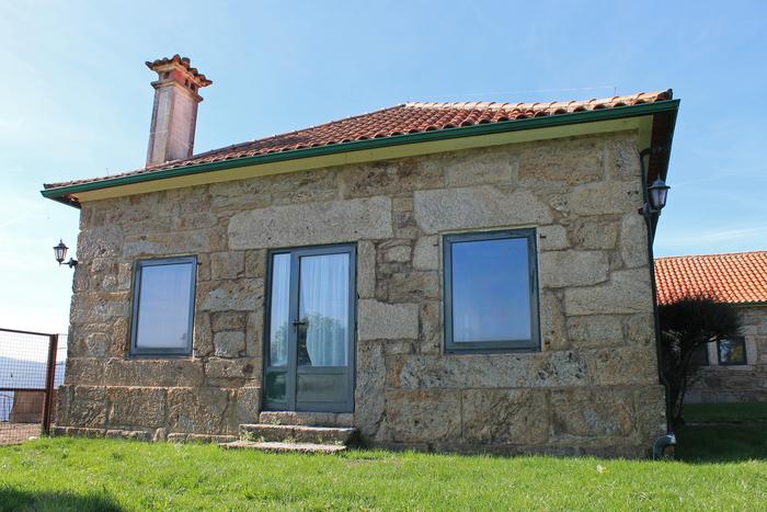 Vista externa casa rural