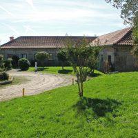 Casa rural vista externa